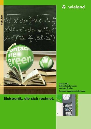 Elektronik, die sich rechnet. - Wieland Electric
