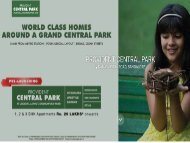 Provident Central Park - Luxury Apartments in Bangalore - 1,2,3 BHK