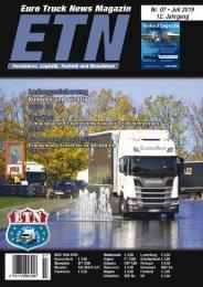 Euro Truck News Digital Nr. 07/2019