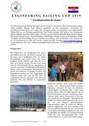 Segeln 2019 Report mit Bildern 04.06.2019 Arno Hemm