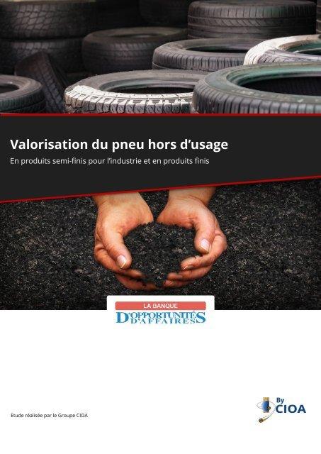 Pneus Usagés - Recyclage et valorisation