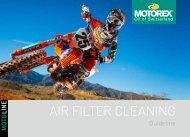 Air Filter Cleaning Brochure DE FR EN