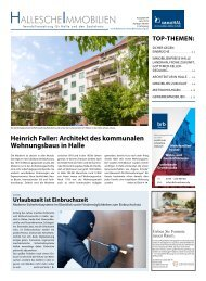 Hallesche Immobilien Zeitung Ausgabe 84 Juni 2019