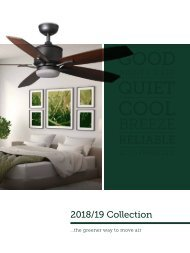 Washington Lighting and Interiors - Ceiling Fans 2019