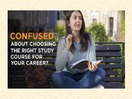 confused about choosing the right study course for your career