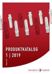 Produktkatalog 01 / 2019