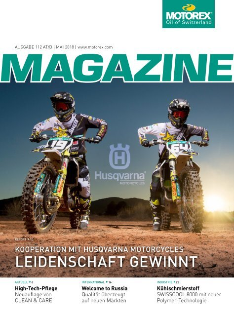 MOTOREX Magazine 2018 112 AT