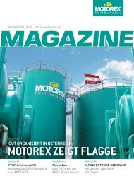 MOTOREX Magazine 2014 101 AT