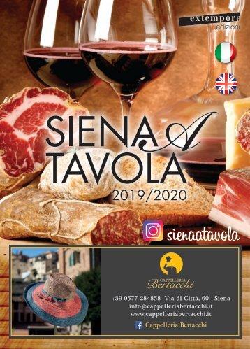 Siena a Tavola 2019/2020