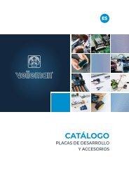 Velleman - Catálogo Placas de Desarrollo y Accesorios - ES