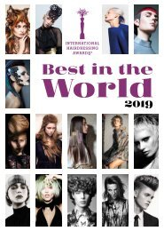 International Hairdressing Awards - Best in the world 2019 - Estratto
