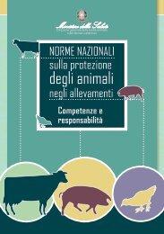 Norme nazionali sulla protezione degli animali negli allevamenti