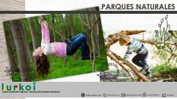 PARQUES NATURALES  CATALOGO WEB