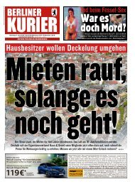 Berliner Kurier 11.06.2019