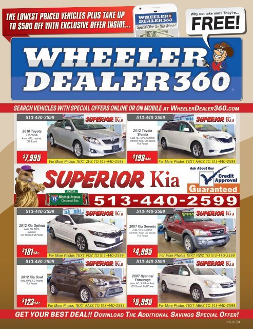 Wheeler Dealer 360 Issue 24, 2019