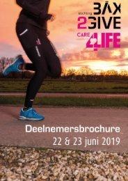 Deelnemersbrochure BAX2Give Care4Life 22 & 23 juni 2019