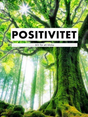 POSITIVITET- Allt for att lyckas - Den Vantades Vanner