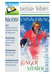 Entsäuerung, Ausgabe 09*2001