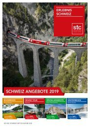 Switzerland Travel Center -  Schweiz Angebote 2019