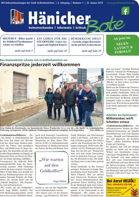 Hänicher Bote | Januar-Ausgabe 2019