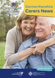 Carers Newsletter May 2019 Eng