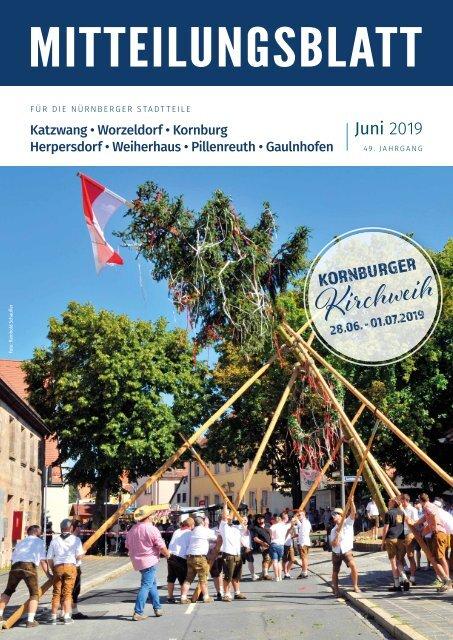 Nurnberg Katzwang Worzeldorf Kornburg Herpersdorf Juni 2019
