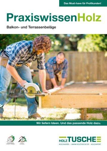 PraxiswissenHolz Balkon- und Terrassenbeläge