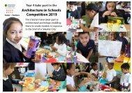 Clapham Manor Primary School - Architecture in Schools 2019