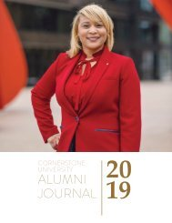 Cornerstone University Alumni Journal 2019