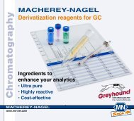 MACHEREY-NAGEL Derivatisation Reagents Flyer