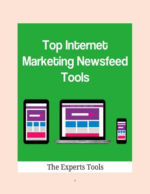 Top Internet Marketing Newsfeed Tools
