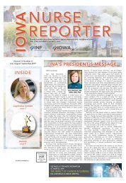 Iowa Nurse Reporter - July 2019