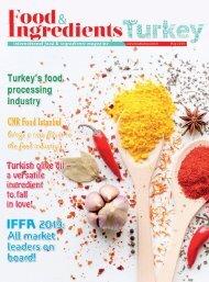 Food Turkey Magazine May 2019
