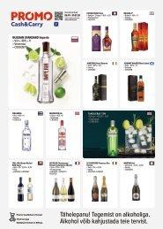 Alkoholi pakkumised