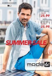Commander Summer Sale Prospekt