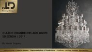 CLASSIC CHANDELIERS AND LIGHTS SELECTION I. 2017