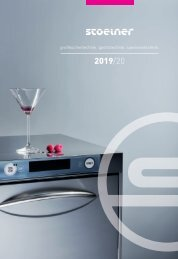 Gastrotechnik Stölner | Produktkatalog 2019