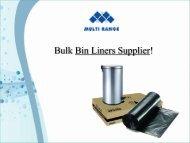 Bin Liners - Australia
