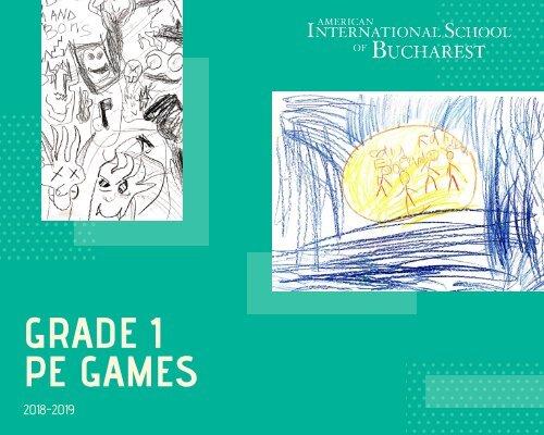 Grade 1 PE Games Brochure