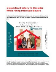 5 Important factor to consider while hiring interstate movers PDF-3