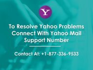To Resolve Yahoo Problems Connect With Yahoo Mail