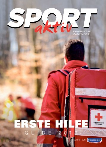 SPORTaktiv Erste Hilfe Guide 2019