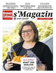 s'Magazin usm Ländle, 16. Juni 2019