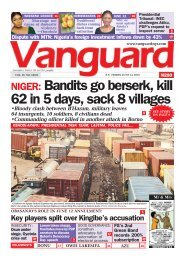 14062019 - NIGER: Bandits go berserk, kill 62 in 5 days, sack 8 villages