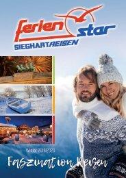 Sieghart Reisen Winterkatalog 2019/20