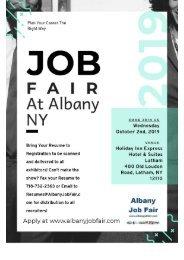 Job Fair Albany NY - Get Your Dream Job