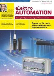 elektro AUTOMATION S2.2019