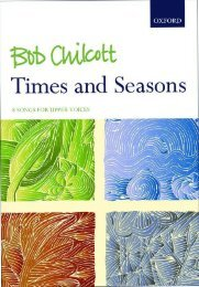 Chilcott Times and Seasons