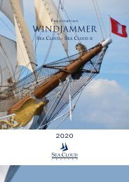 Sea Cloud Hauptkatalog_2020