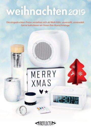 Firmengeschenke von Reflects für Weihnachten 2019